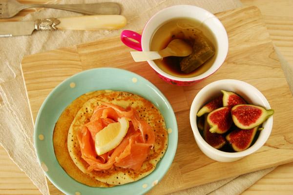 pancake au maïs sans gluten