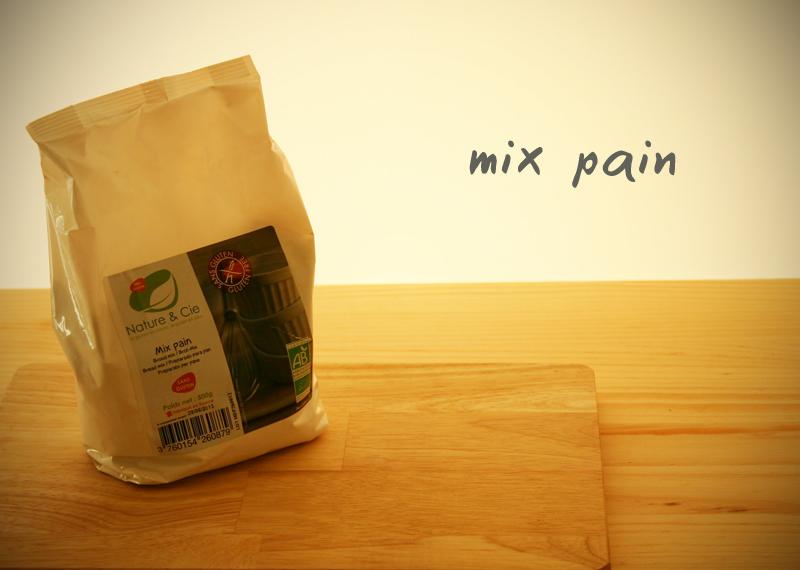 mélange mix pain de nature et Cie