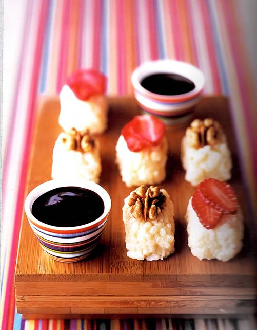 sushi sucrés de Miss no gluten